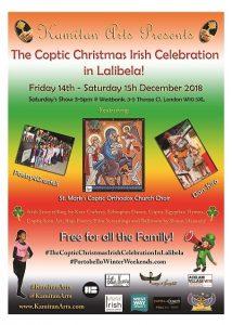 The Coptic Christmas Irish Celebration in Lalibela - Kamitan